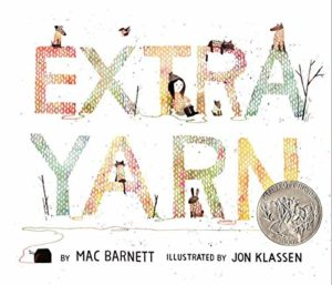 Extra Yarn by Mac Barnett and Jon Klassen picture book front cover