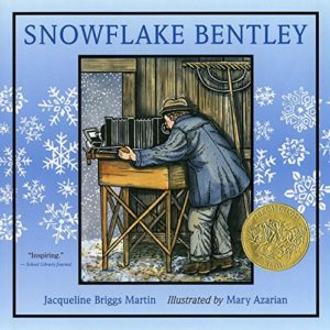 Snowflake Bentley by Jacqueline Briggs Martin picture book front cover