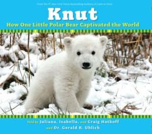 Knut: How One Little Polar Bear Captivated the World by Juliana Hatkoff picture book cover