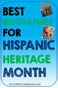 Check out these 20 biography picture books for Hispanic Heritage Month. These books and lesson plans are full of activities and ideas about famous Latinos. National heroes, artists, writers, and social justice leaders included. The people in these books for kids Kindergarten through upper elementary are perfect for your celebration!