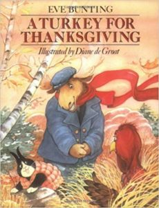 Check out these fiction and non-fiction picture books for Thanksgiving. These books and lesson plans are full of activities and ideas to teach these mentor texts.  Books just for fun and others to inform for Kinderarten, first, second, third, fourth or fifth grade.  These books for kids Kindergarten through upper elementary are perfect for your celebration!  Including A Turkey For Thanksgiving by Eve Bunting