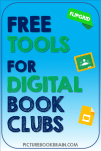 Want to make digital book clubs or digital guided reading groups happen? This suite of free tools will help you run virtual book clubs. Tips, ideas and strategies for teachers and students in elementary to have digital book clubs. Ideas for Kindergarten, first, second, third, fourth or fifth grade kids. Distance learning book clubs or for any time if you want to go digital.  Plus a free book club resource to get you started!