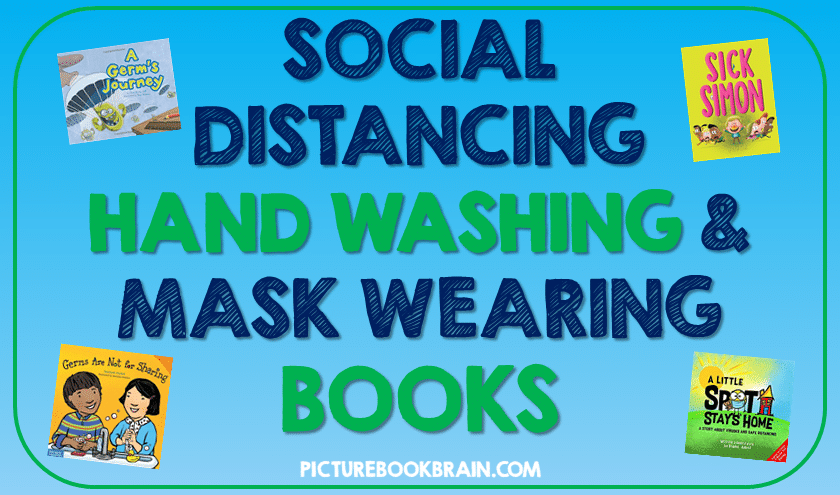 Social distancing, hand washing and face mask wearing books for kids! Stopping the spread of germs and viruses and keeping good hygiene can be difficult in schools. These books are great for teachers to teach kids to stay socially distant, to wash their hands and how to wear masks to kids and students. Most books are appropriate for K, 1st, 2nd, 3rd or 4th grade. Fun, quality stories to teach elementary students to stop the spread of germs especially for Kindergarten, first, second, third or fourth grade.