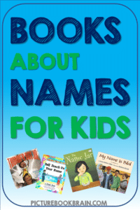 The best children's books about names for Kindergartener, first, second, third and fourth grade. Picture books perfect for back to school and studies about identity or a learning your name unit. Books that nurture and build empathy for diverse cultures and diverse names. These children's picture books about names will be great for teachers and students in K, 1st, 2nd, 3rd or 4th grade!  Lesson plans and activities also linked!