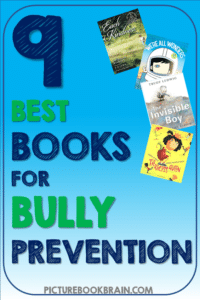 Check out the best anti bullying books for elementary students. These books about empathy, bully prevention and problem solving for kids in Kindergarten, first, second, third, fourth or fifth grade are great for teachers.  Suggested activities for grades K-5 linked for your social emotional learning (SEL) lessons.