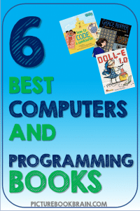 Check out some of the best children's books about computers and programming and programmers as recommended by teachers and librarians!  There are so many amazing computer books for kids that teach them about famous computer programmers, coding basics and coding in history for Kindergarten, first, second, third, fourth or fifth grade.  Great for the Hour of Code.   Your K, 1st, 2nd, 3rd, 4th or 5th grade students will love these picture books about computers and programming.